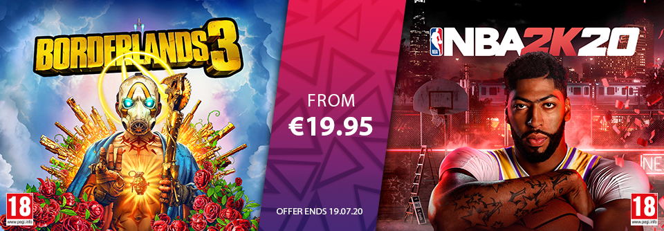 2K Games July Offers 2020