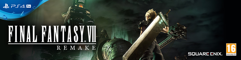 Final Fantasy VII Out Now