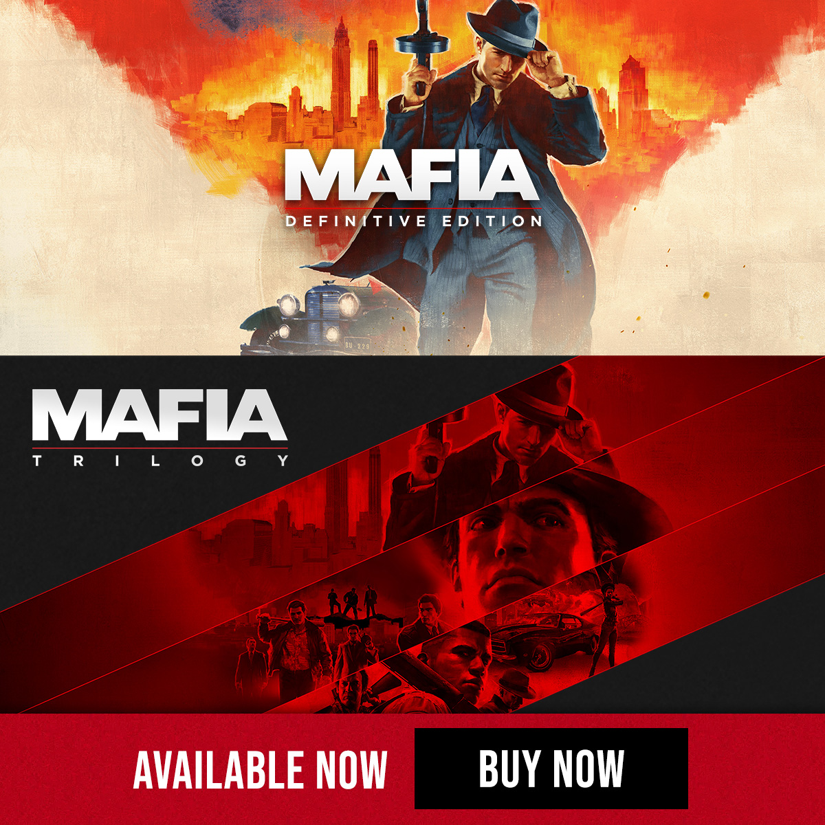 Mafia Trilogy Definitive Edition