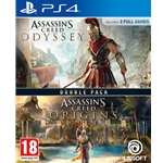 Assassin's Creed Origins & Odyssey Double Pack (PS4)