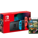 OFFER Nintendo Switch Console (Neon Red/Neon Blue) (Switch) + Rocket League