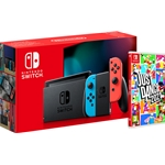 Nintendo Switch Console (Grey) + Just Dance (Switch)