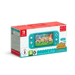 Nintendo Switch Lite Turquoise + Animal Crossing New Horizons (Switch)