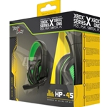 Wired Stereo Headset - HP-45 - Black/Green (Xbox One/Multi)