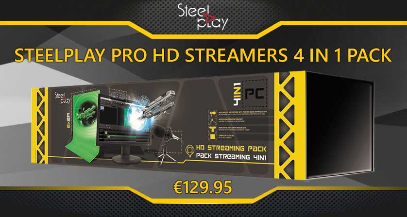 Steelplay Streamer Pack