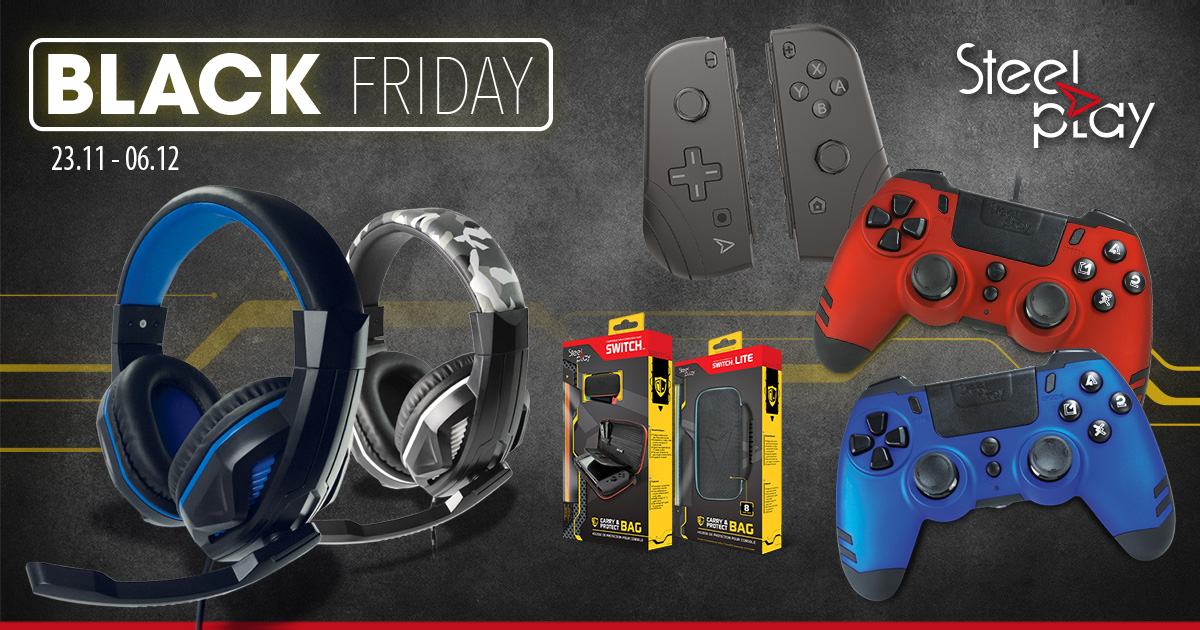 Steelplay Black Friday