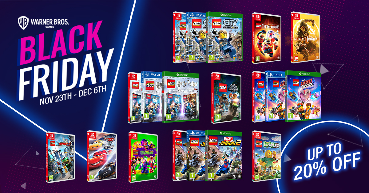 Warner Bros Black Friday Offer